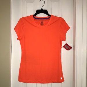 NWT Orange Danskin Loose Fit Workout Top